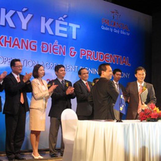 KDH và Prudential ký kết hợp tác đầu tư vào dự án Villa Park