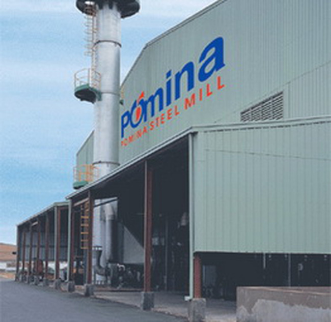 Pomina - Nhà máy thép lớn nhất lên sàn