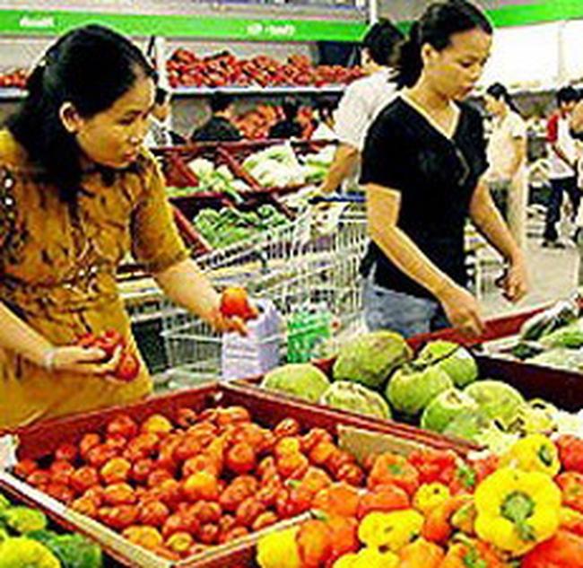 Chỉ số giá tiêu dùng tháng 4 tại Hà Nội giảm nhẹ