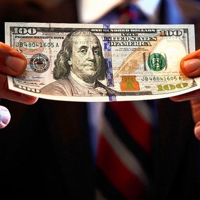 Mỹ chính thức công bố tờ 100USD mới