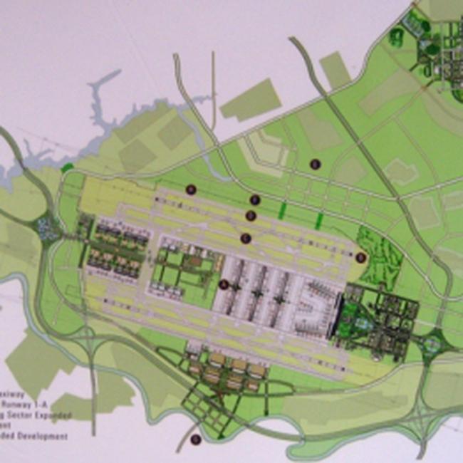 """""""Siêu dự án"""" tại khu vực sân bay Nội Bài"""