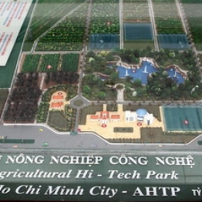 Ra mắt Khu nông nghiệp công nghệ cao TP.HCM