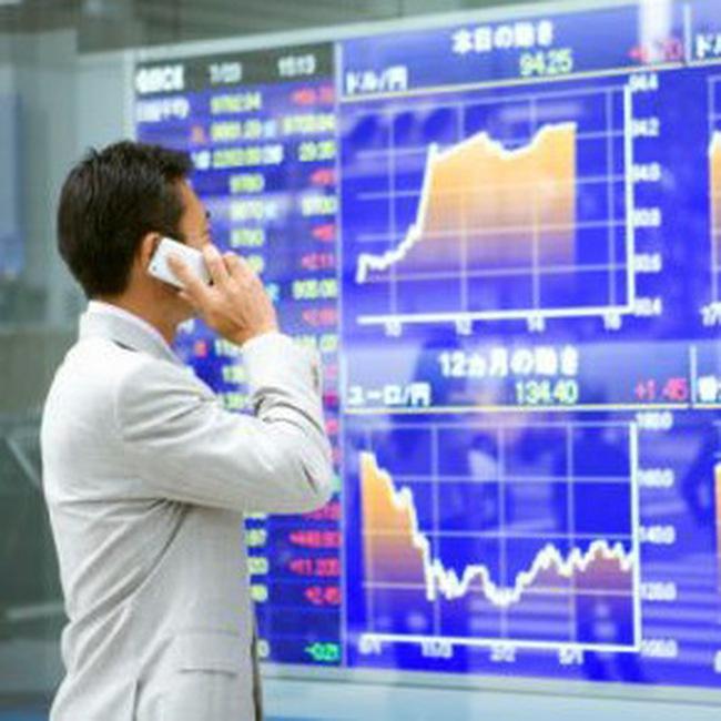 Chứng khoán châu Á tiếp tục trượt dốc
