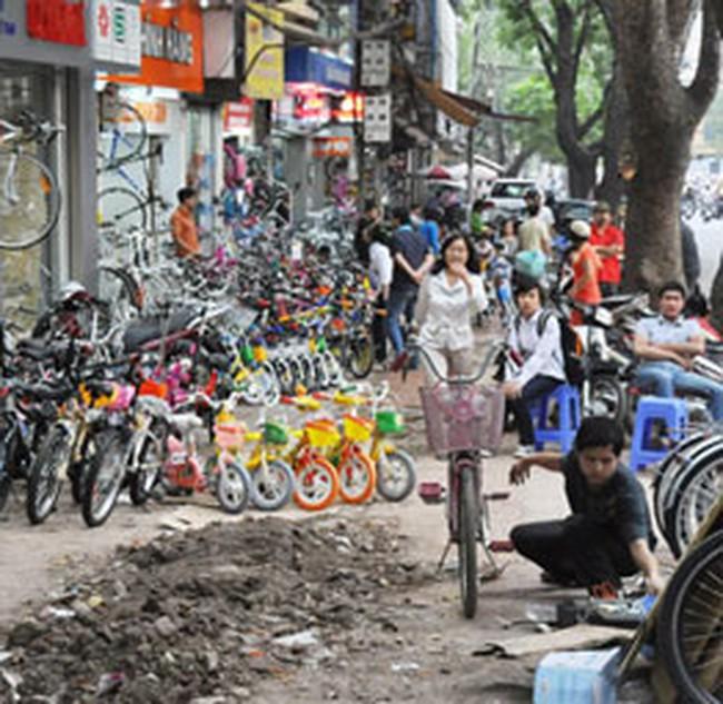Kinh doanh xáo trộn vì kế hoạch chỉnh trang đô thị Hà Nội