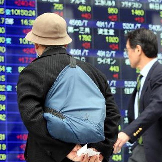 Châu Á giảm điểm, thị trường Thái Lan tăng vọt