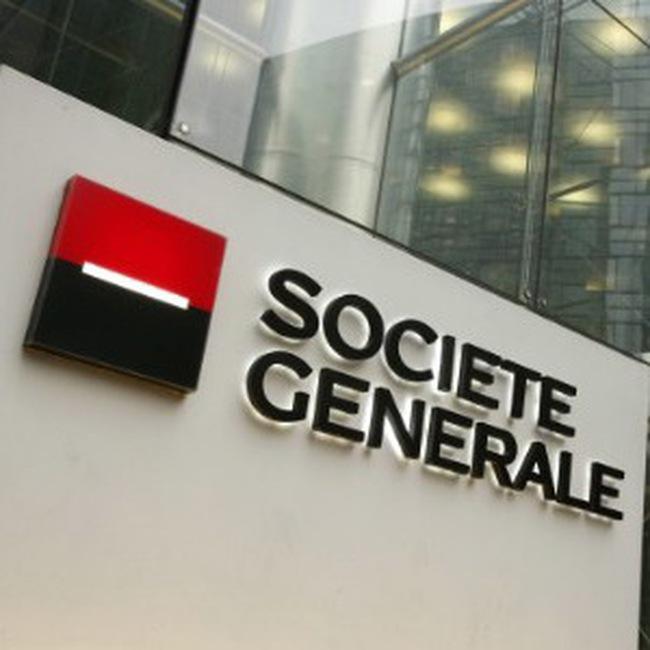 Ngân hàng Societe Generale lãi lớn nhờ bộ phận ngân hàng đầu tư