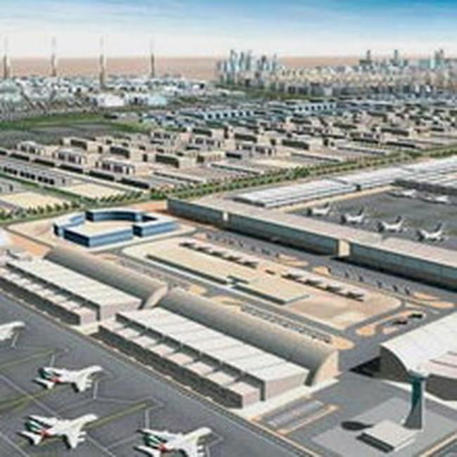 Năm 2011, Dubai có sân bay lớn nhất thế giới