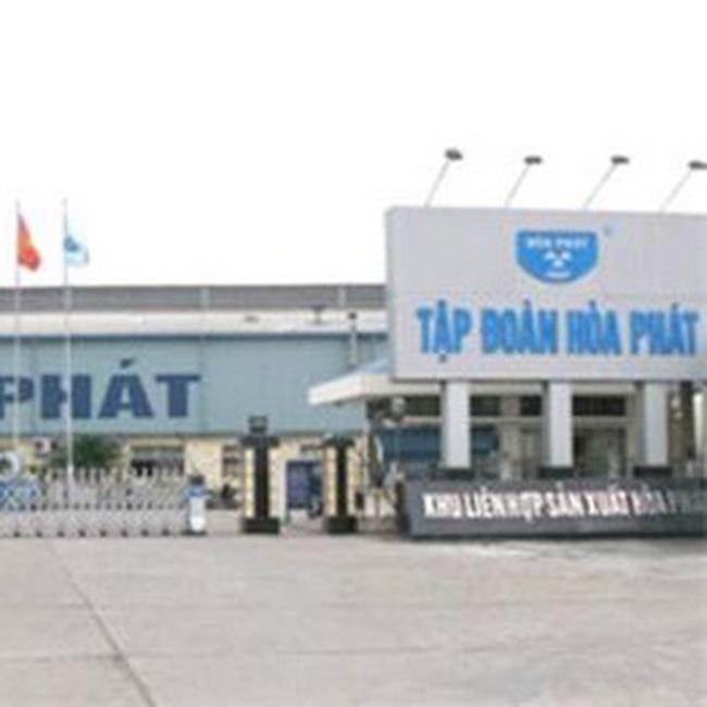 HPG: Đốt lò giai đoạn 1 Nhà máy xi măng Hòa Phát