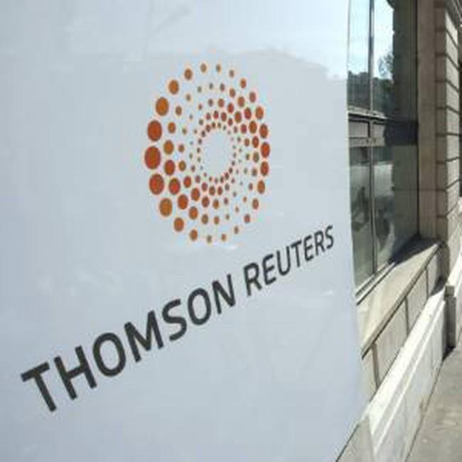 Thomson Reuters công bố lợi nhuận quý 1/2010 tốt vượt dự báo