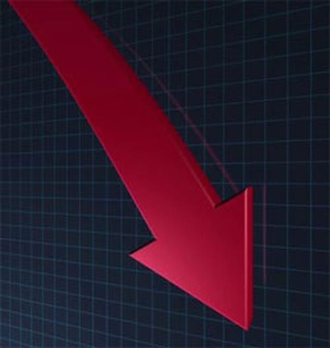 Điều chỉnh giảm mạnh, Vn-Index lùi về sát 540 điểm