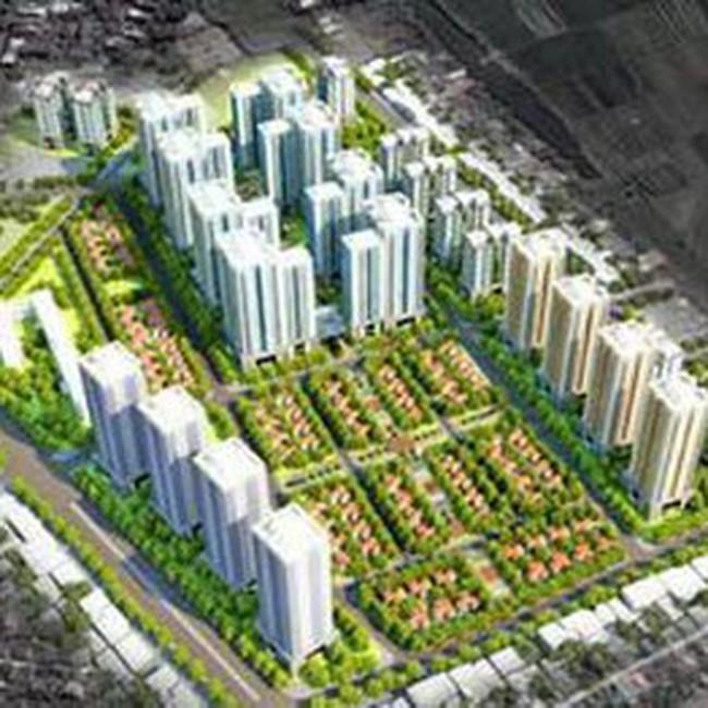 Thêm khu đô thị mới phía tây bắc trung tâm Hà Nội