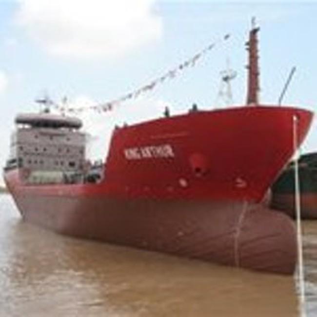 Hải Phòng: Đóng tàu chở khí hóa lỏng 4.500 m3