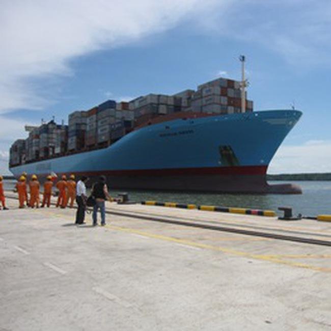 'Mathilde Maersk' - tàu Container lớn nhất cập cảng Việt Nam