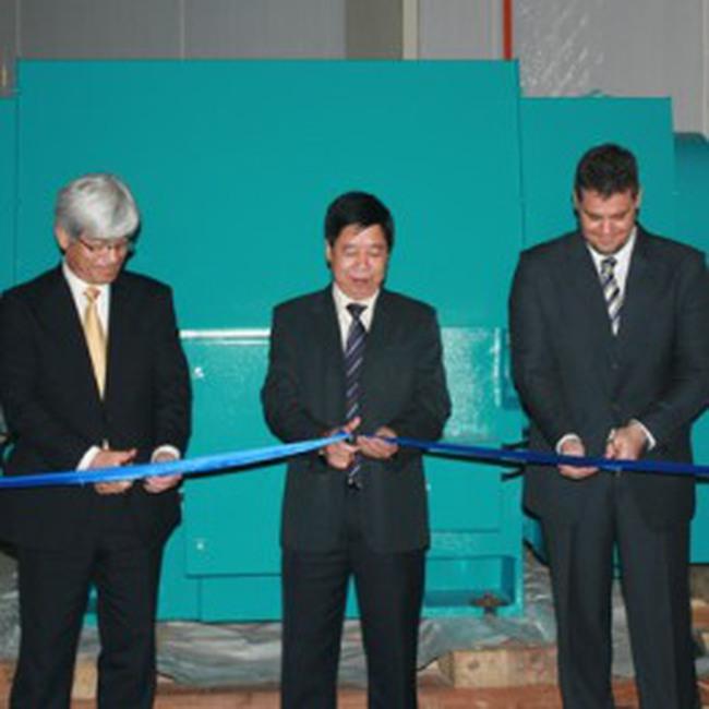 GE Energy Hải Phòng xuất xưởng tuabin gió phát điện đầu tiên