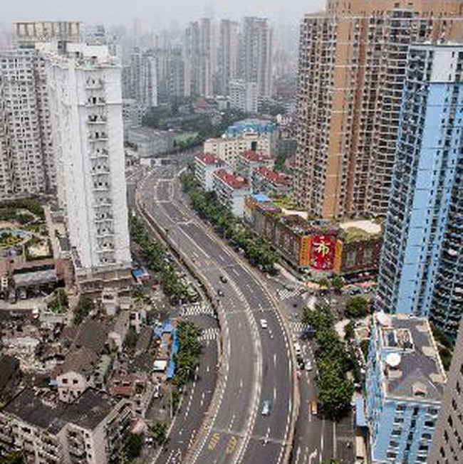 Giá bất động sản tại Trung Quốc tháng 4 tăng vọt