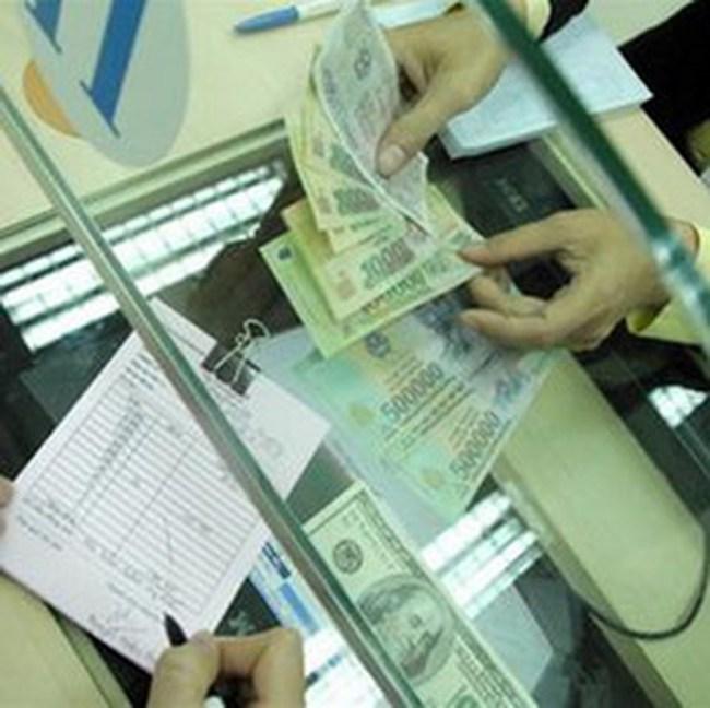 Lãi suất giao dịch bình quân bằng VND liên ngân hàng tăng ở tất cả các kỳ hạn
