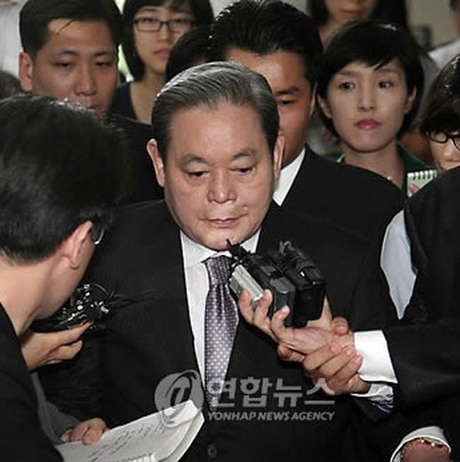 Chủ tịch tập đoàn Samsung giàu nhất Hàn Quốc