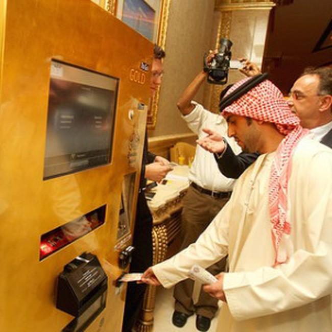 Máy ATM để rút vàng miếng
