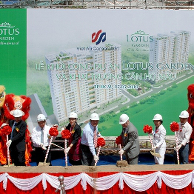 Viet Au Corp khởi công dự án Lotus Garden