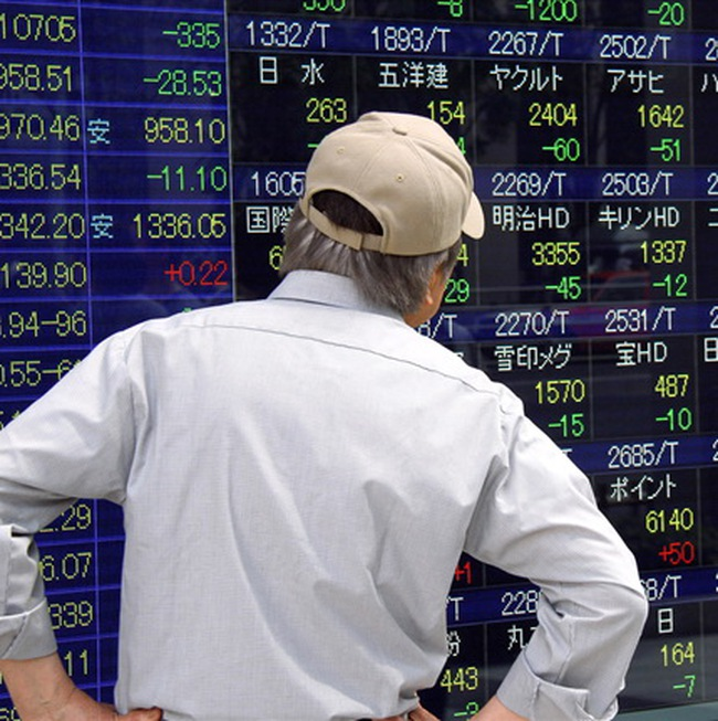Thị trường châu Á giảm điểm mạnh nhất trong 6 tháng