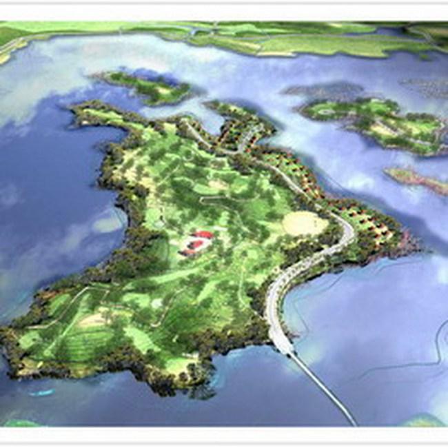 Petrovietnam được chấp thuận tiếp tục dự án golf Tản Viên