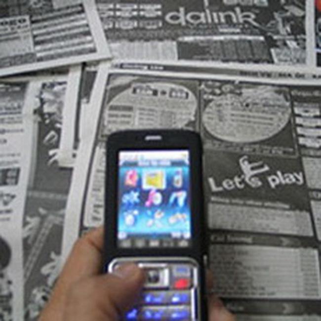 Ngành dịch vụ nội dung cho di động bị ép đến không còn đất sống