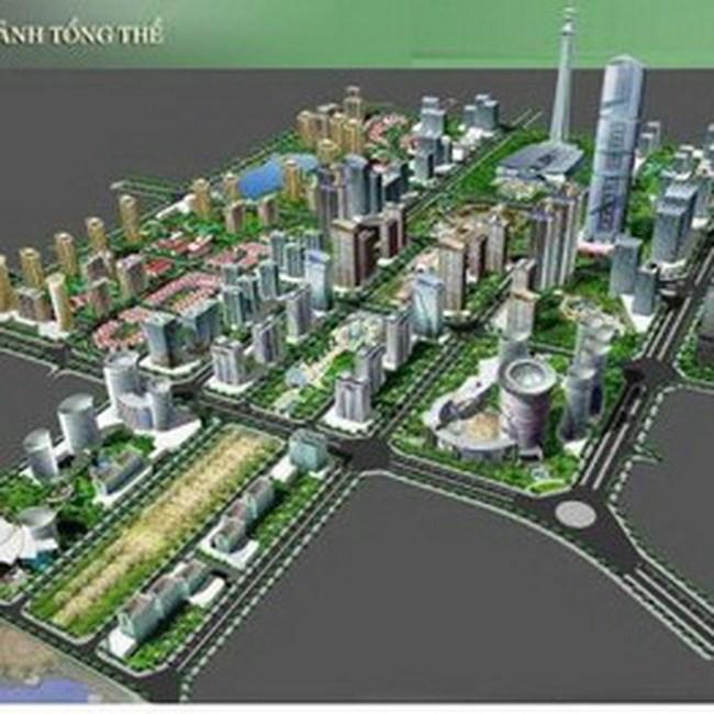 Xây dựng tuyến đường số 1 vào trung tâm đô thị mới Tây Hồ Tây