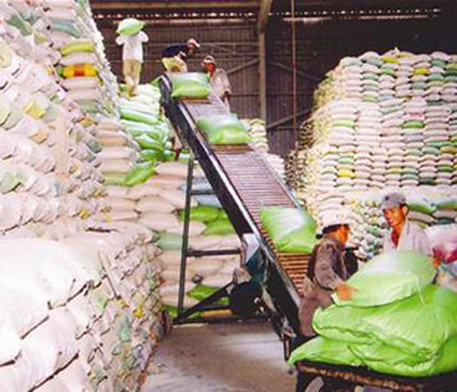 Xuất khẩu gạo vượt 1 tỉ đô la Mỹ