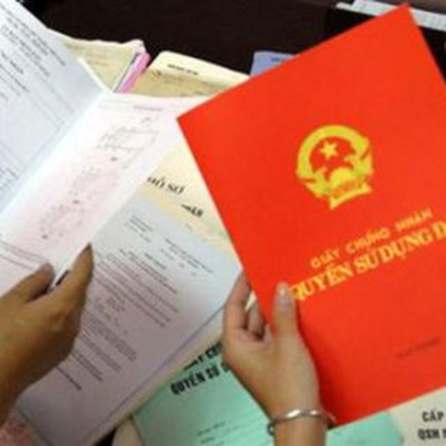 Lệ phí cấp giấy đỏ tối đa 100.000 đồng/giấy