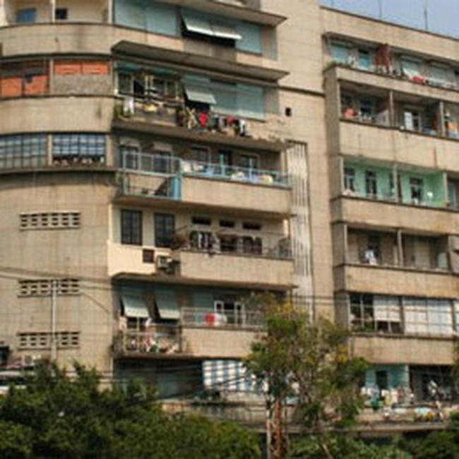 Đề nghị cho xây dựng căn hộ chung cư 20m2