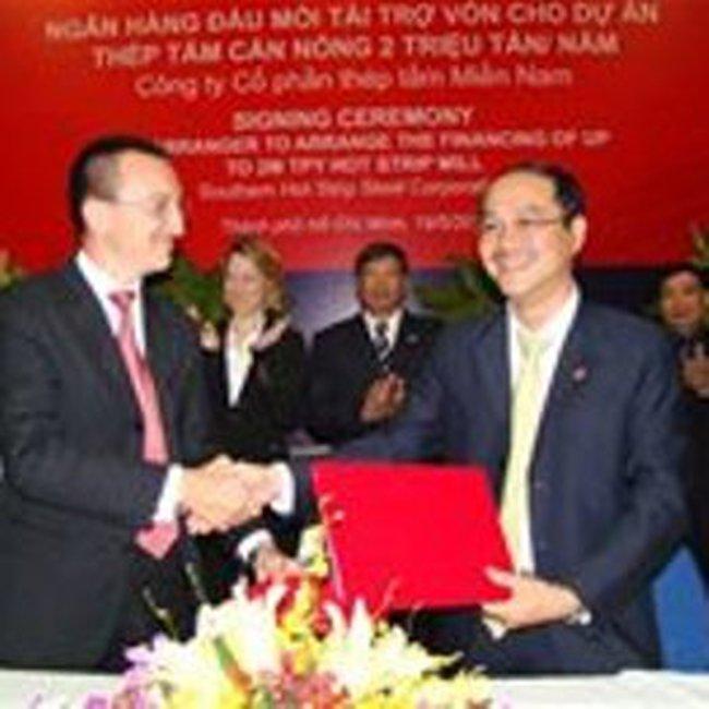 Thép tấm Miền Nam vay 369 triệu USD xây nhà máy thép tấm