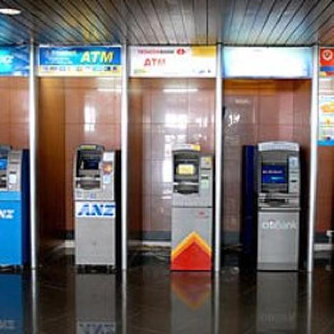 Toàn bộ hệ thống ATM các ngân hàng được liên thông