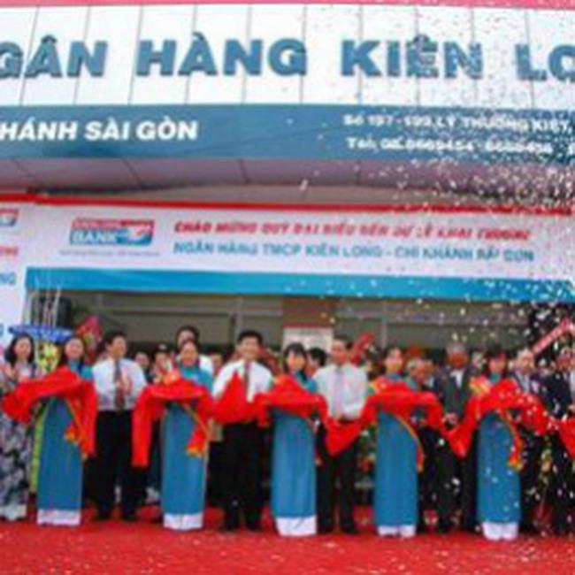 KienLongBank phát hành 100 triệu CP tăng vốn điều lệ lên 2000 tỷ đồng