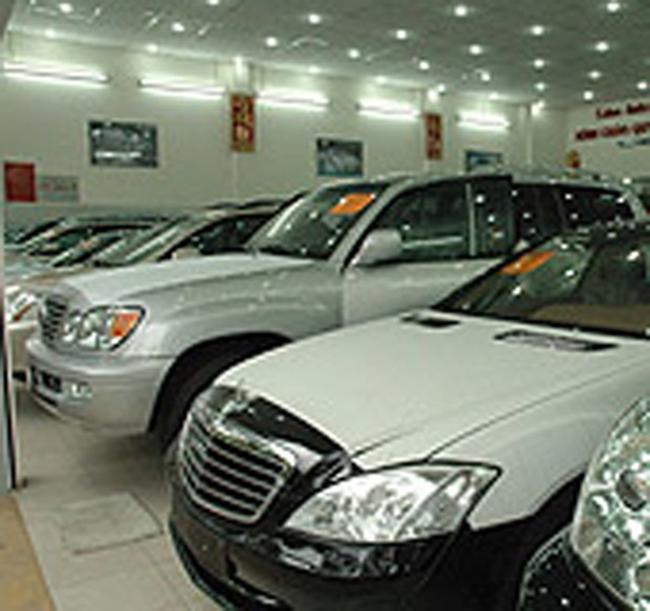 Loại ôtô khỏi danh sách làm tăng nhập siêu