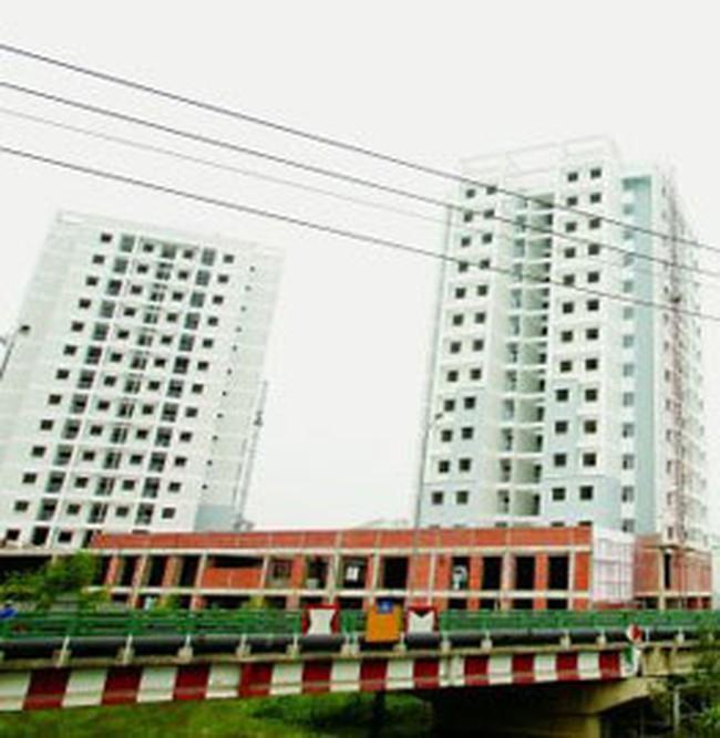 Giá bán căn hộ cao gấp đôi giá thành