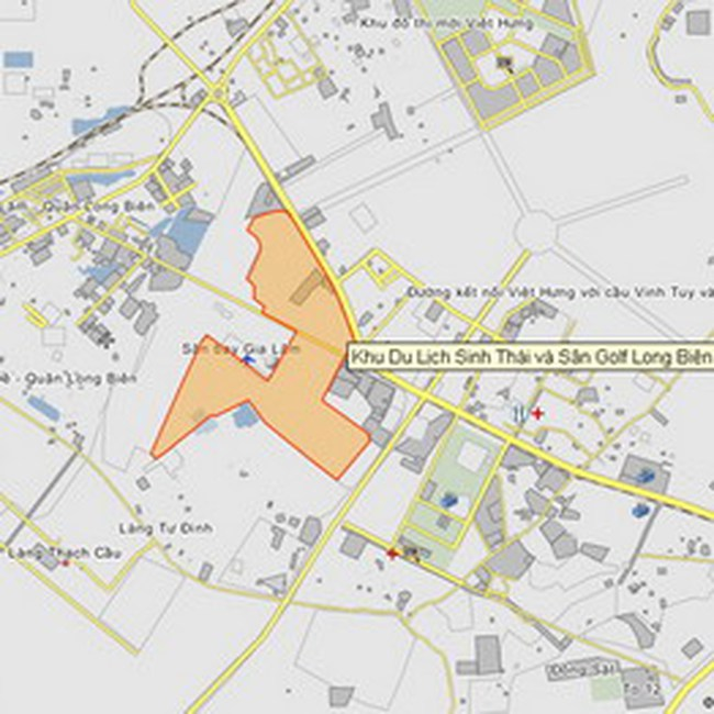 Quy hoạch chi tiết Sân golf và dịch vụ Long Biên