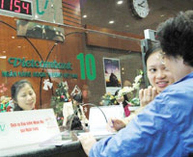 VCB: 4/6 GDKHQ mua cổ phiếu bằng mệnh giá tỷ lệ 1000:92,79