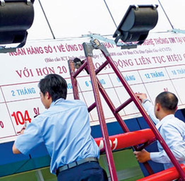 Lãi suất giao dịch bình quân liên Ngân hàng bằng VND tăng mạnh nhất tới 0,71%