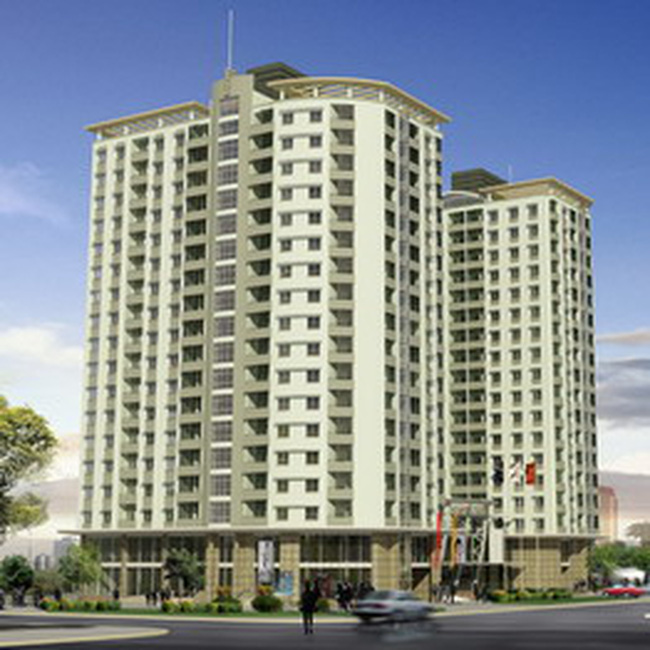 HDC: Bán căn hộ chung cư 18 tầng Phú Mỹ với giá từ 8,5 – 9,6 triệu đồng/m2