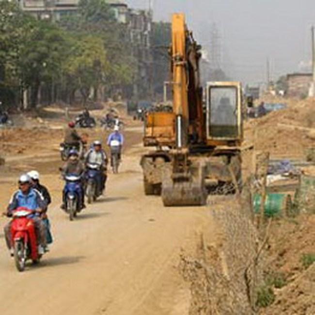 Hà Nội: 4 tháng đầu năm đã GPMB cho 82 dự án