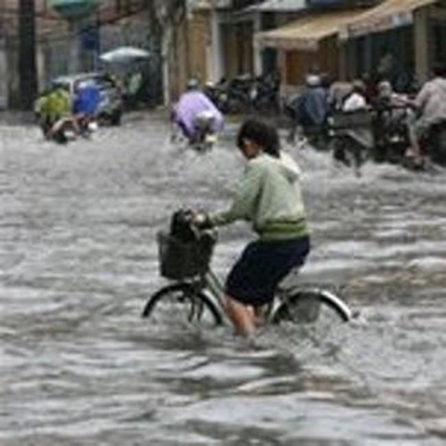 TPHCM: Cần xây đê bao và hồ chứa để chống ngập