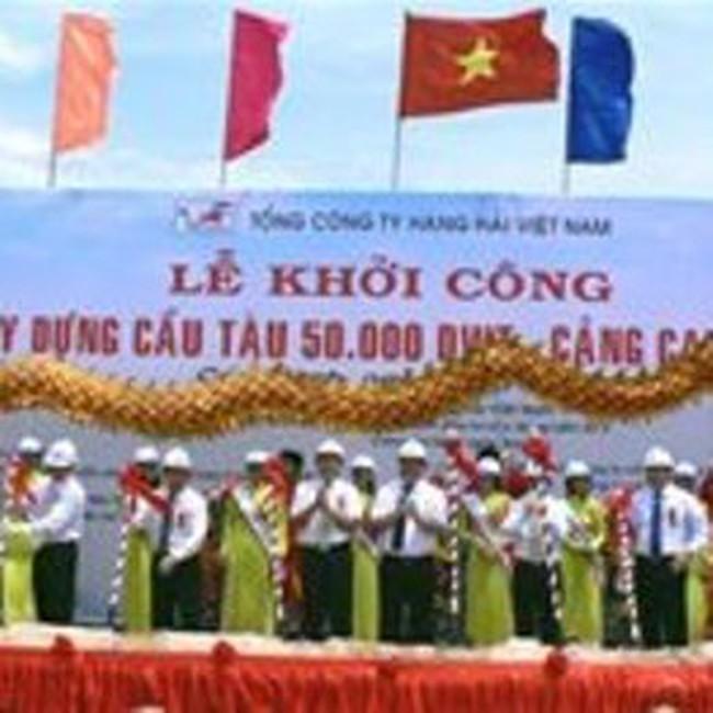 Gần 520 tỉ đồng nâng cấp cảng Cam Ranh