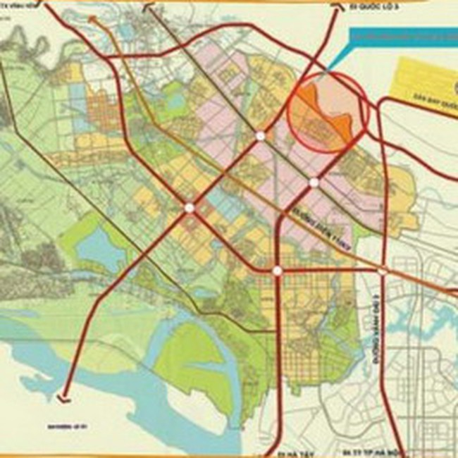 Đổi 300 ha đất Thanh Trì lấy 8,3 km đường vành đai 3,5