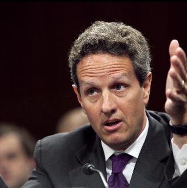 Bộ trưởng Tài chính Mỹ: Khủng hoảng châu Âu không cản đà phục hồi kinh tế Mỹ