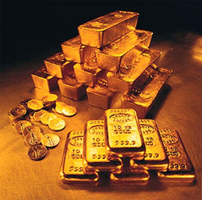 Giá vàng tăng hơn 100.000 đồng/lượng