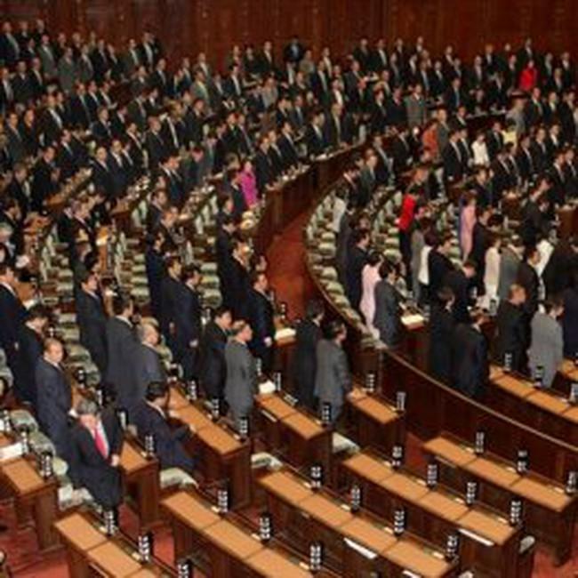 Tỷ lệ ủng hộ với đảng cầm quyền Nhật tăng cao