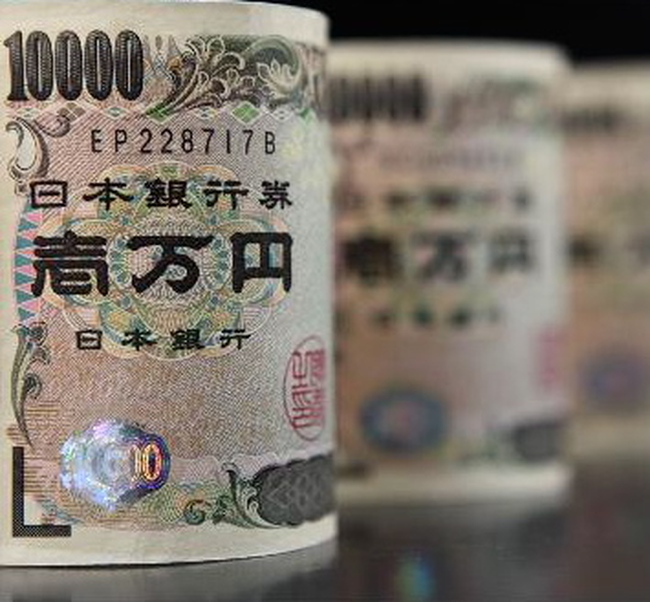 Đồng yên lên cao kỷ lục trong gần 9 năm