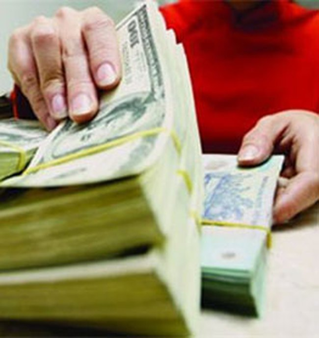 Dự trữ ngoại hối đang tăng lên