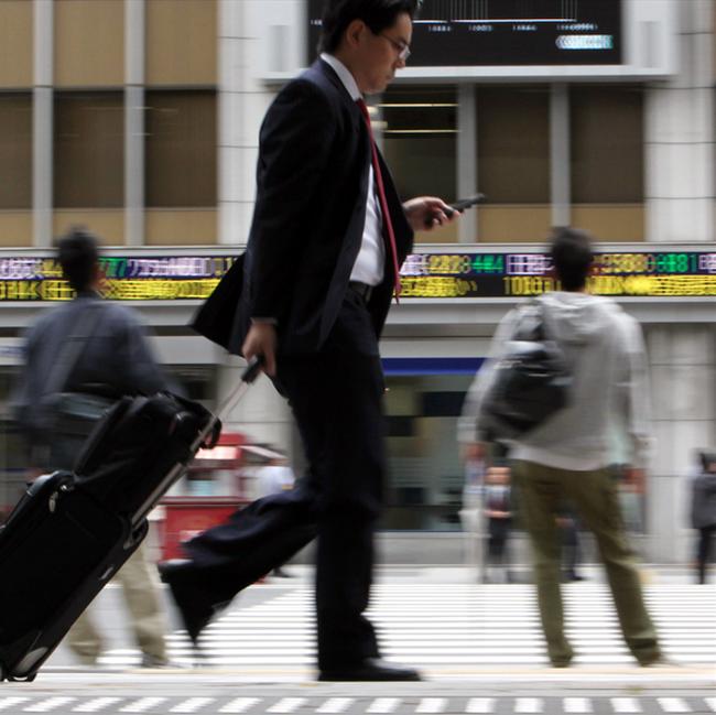 Thị trường chứng khoán châu Á lên điểm