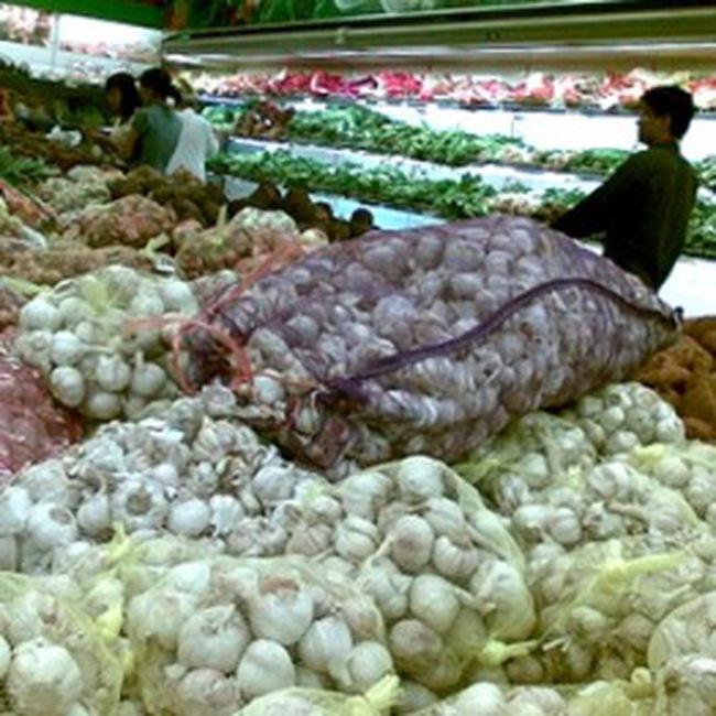 Tiền tỉ nhập tỏi, cà rốt... Trung Quốc